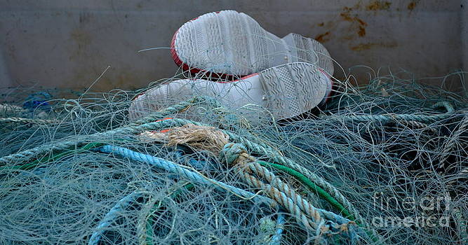 Joe Cashin - The shoes of the fisherman