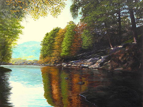 The silence of the lake by Erno Saller