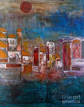 The Silk Road by Corina  Stupu Thomas
