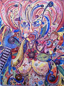 The Singer by Amado Gonzalez