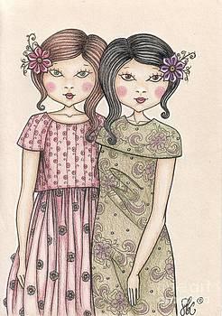 The sisters by Snezana Kragulj