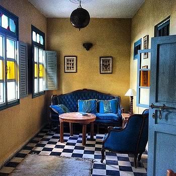 The Sitting Room In Our Riad #essaouira by Sarah Dawson
