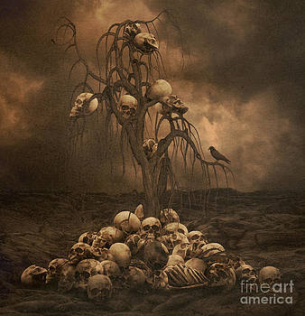 The skull Tree by Lynn Jackson