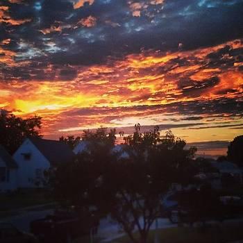 The Sky Is On Fire by Rebecca Kowalczik