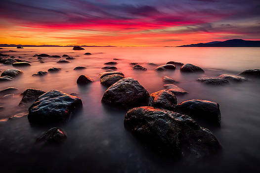 The Sky on Fire by Alexis Birkill
