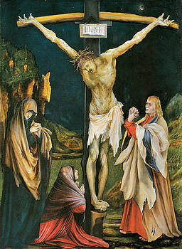 Matthias Grunewald - The Small Crucifixion