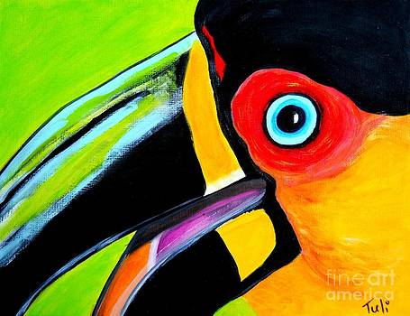 The smiling Toucan by Claudia Tuli
