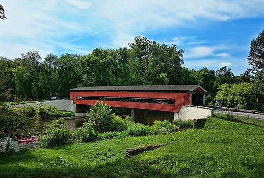 The Smith Covered Bridge by Lanis Rossi