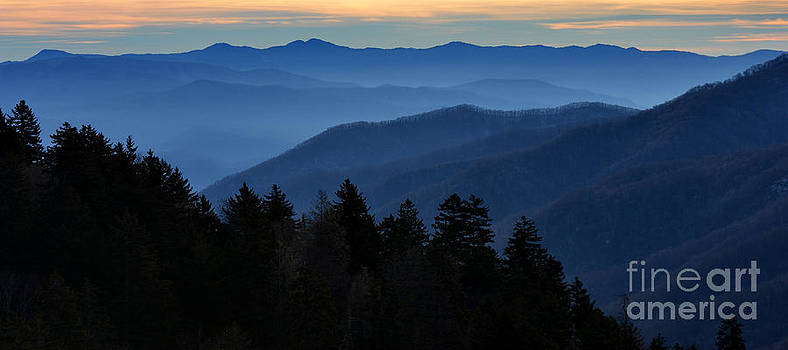 The Smokey Mountains all Around You by Eva Thomas