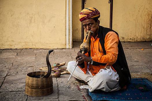 The Snake Charmer by James McRae