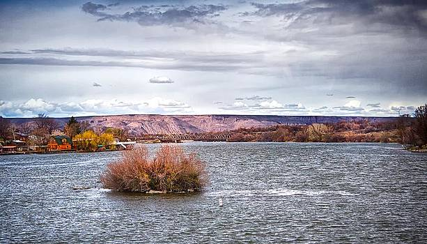 The Snake River Near Hagerman Idaho by Michael Rogers