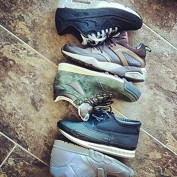 The Sneaker Rotation For The Past Week by Kevin Lawton