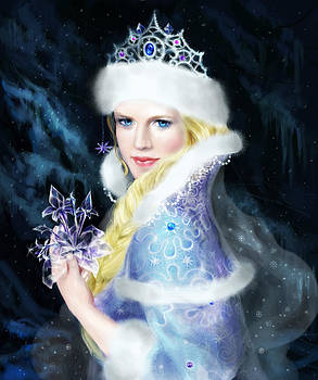 The snow maiden  by Anastasia Michaels