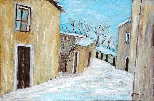 The Snow by Mauro Beniamino Muggianu