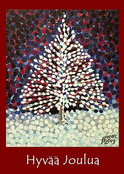 Alan Hogan - The Snow Tree Finnish Xmas Greeting