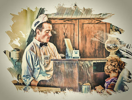The Soda Fountain ... by Bob Kramer