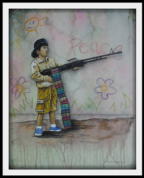 The soldier-boy of Crayola by Chris Mc Crossan
