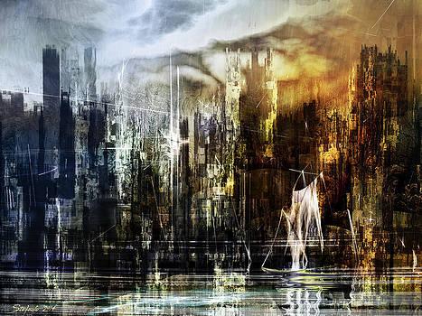 The Somnolent City IV by Stefano Popovski