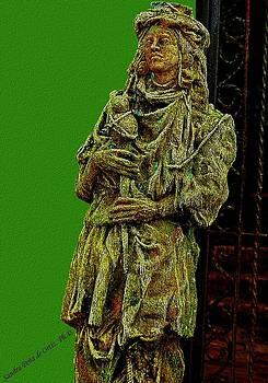 Sandra Pena de Ortiz - The Spanish Colonial Statue Of Gallery Inn