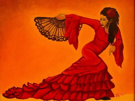 The Spanish Dancer by BJ Hilton Hitchcock