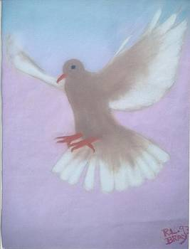 The Spirit DescendedLike a dove. by Robert Bray
