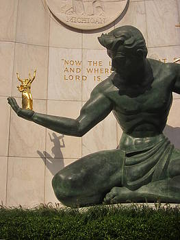 The Spirit Of Detroit by Guy Ricketts