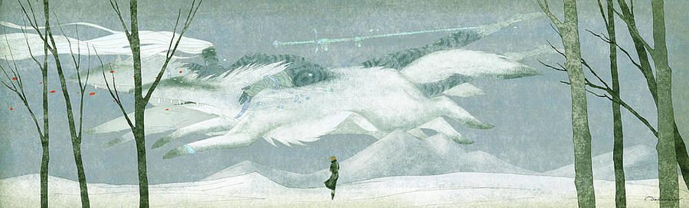 The Spirit Of The North Wind by Dmitry Rezchikov