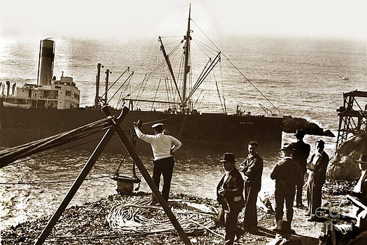 California Views Mr Pat Hathaway Archives - The S. S. Ohioan a American-Hawaiian Steamship Company cargo ship  1936