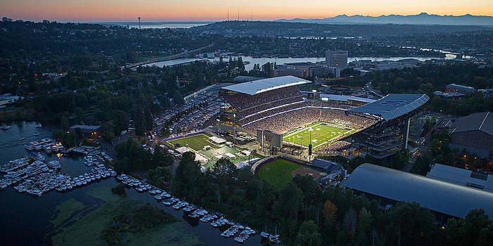 Max Waugh - Husky Stadium and the Needle
