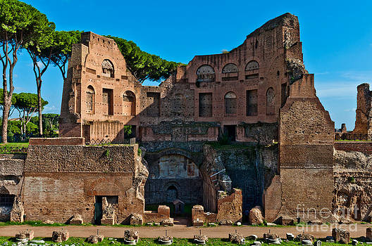 The Stadium of Domitian in Rome by Luis Alvarenga