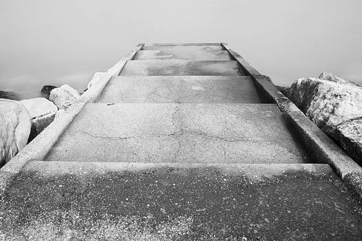 The Staircase on Water by Mattia Oselladore