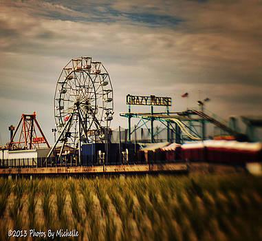 The Steel Pier by Michelle Gross