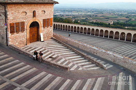 The Steps of Assissi by Carol Barrington