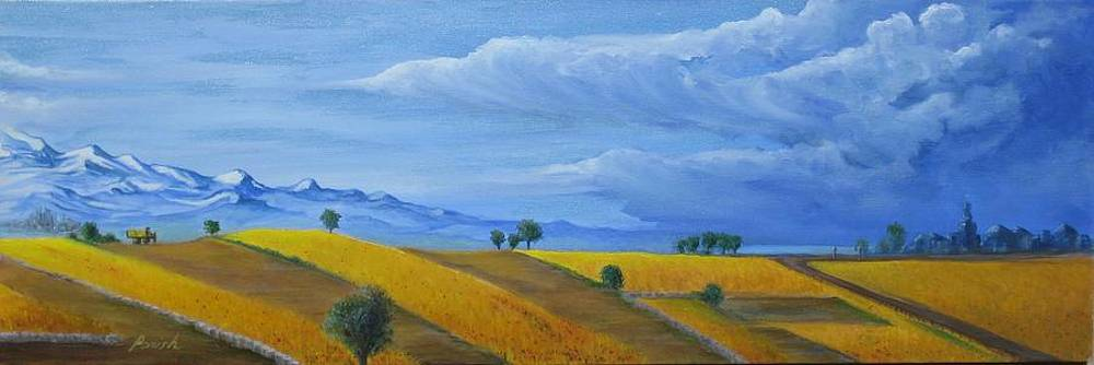 The Storm Is Coming by Paintings by Parish