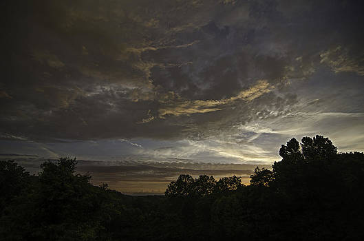 The Storm Rolls In by Shirley Tinkham