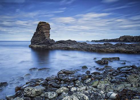 The strange cliff... by Arnar B Gudjonsson