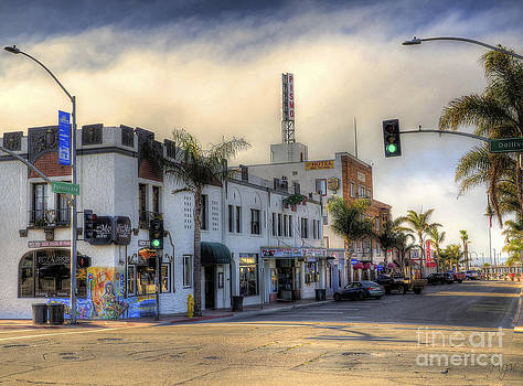 The Streets of Pismo Beach by Mathias