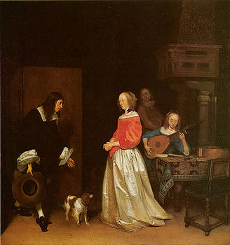 Gerard Terborch - The Suitor