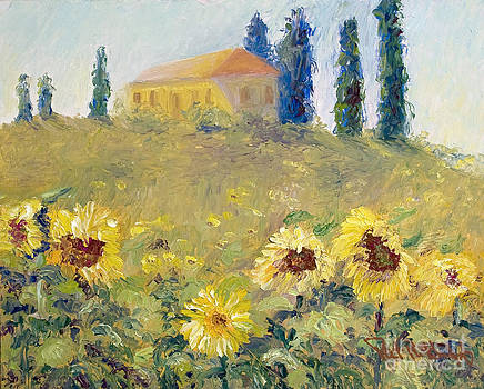 The Sunflowers by Patricia Huff