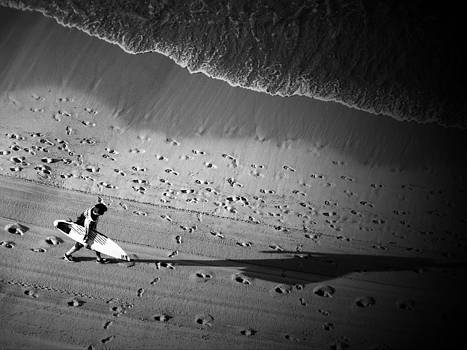 The Surfer's Steps by Rod Sterling