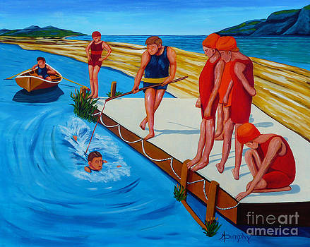The Swimming Lesson by Anthony Dunphy