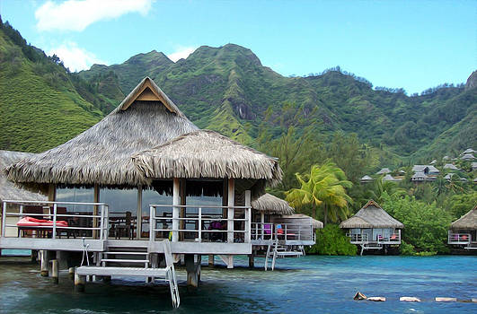 The Tahitian Getaway by Gabriel Jeane