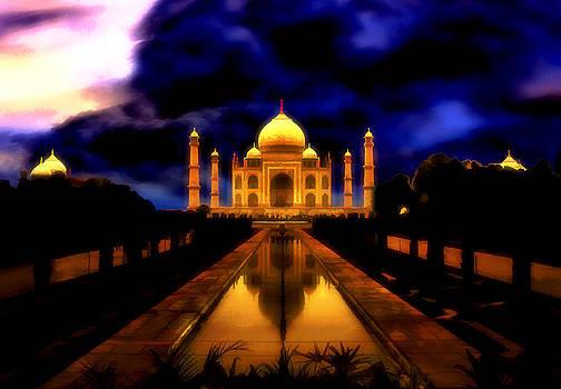The Taj Mahal by Amanda Struz