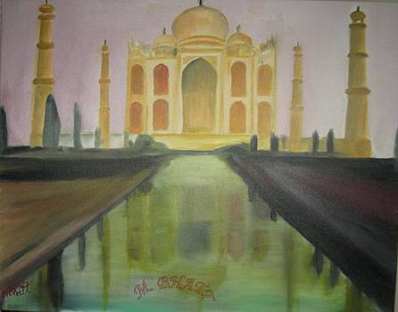 The Tajmahal by M bhatt