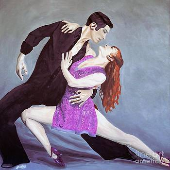The Tango Couple by Hussein El Kaissy