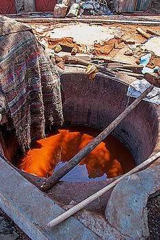 The Tanneries in Marakech by Ellie Perla
