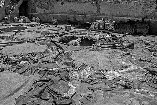 The Tanneries in Marrakech by Ellie Perla