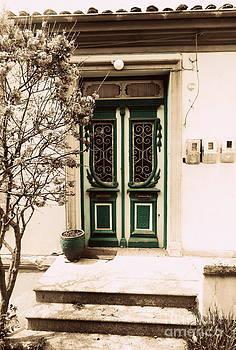 Ioanna Papanikolaou - the teal door