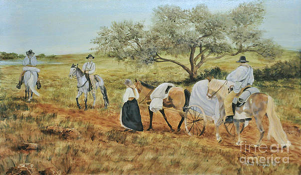 The Tejas Trail by Gail Finger