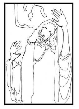 The temptation of Jesus by Daniel Bonnell
